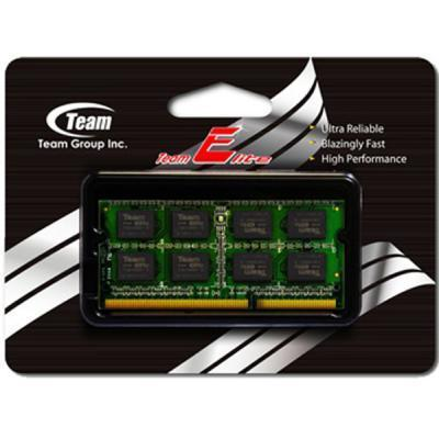 Модуль памяти SoDIMM DDR3 8GB 1600 MHz Team (TED38G1600C11-S01)