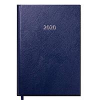 Ежедневник 2020 Buromax Strong А5, темно-синий