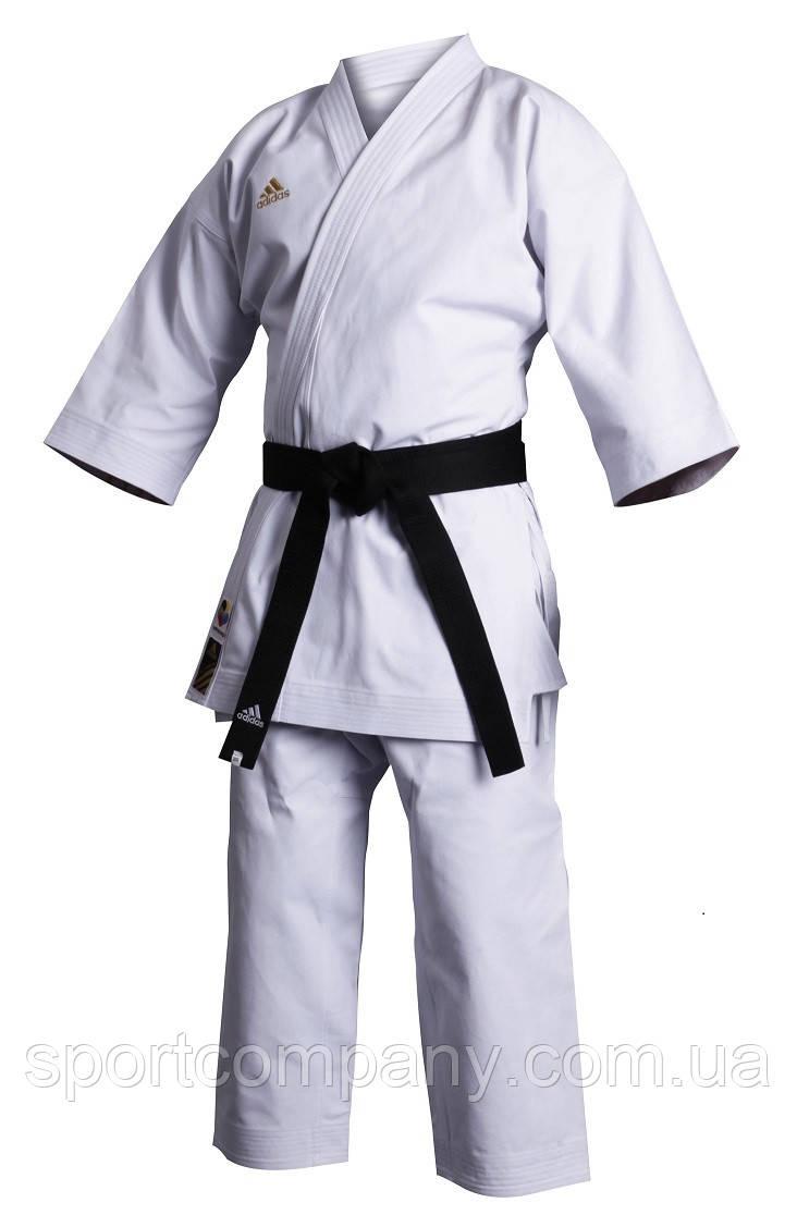 Кимоно карате Champion Японского стиля Adidas (K460J) белое