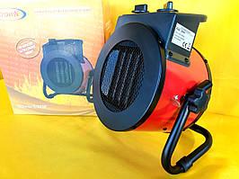 """Тепловая вентилятор (пушка) 2 кВт """"Crown"""" (Керамический нагревательный элемент). Электрическая."""