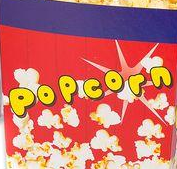 Коробка для попкорна  3 л цена указана за 100 штук, фото 1