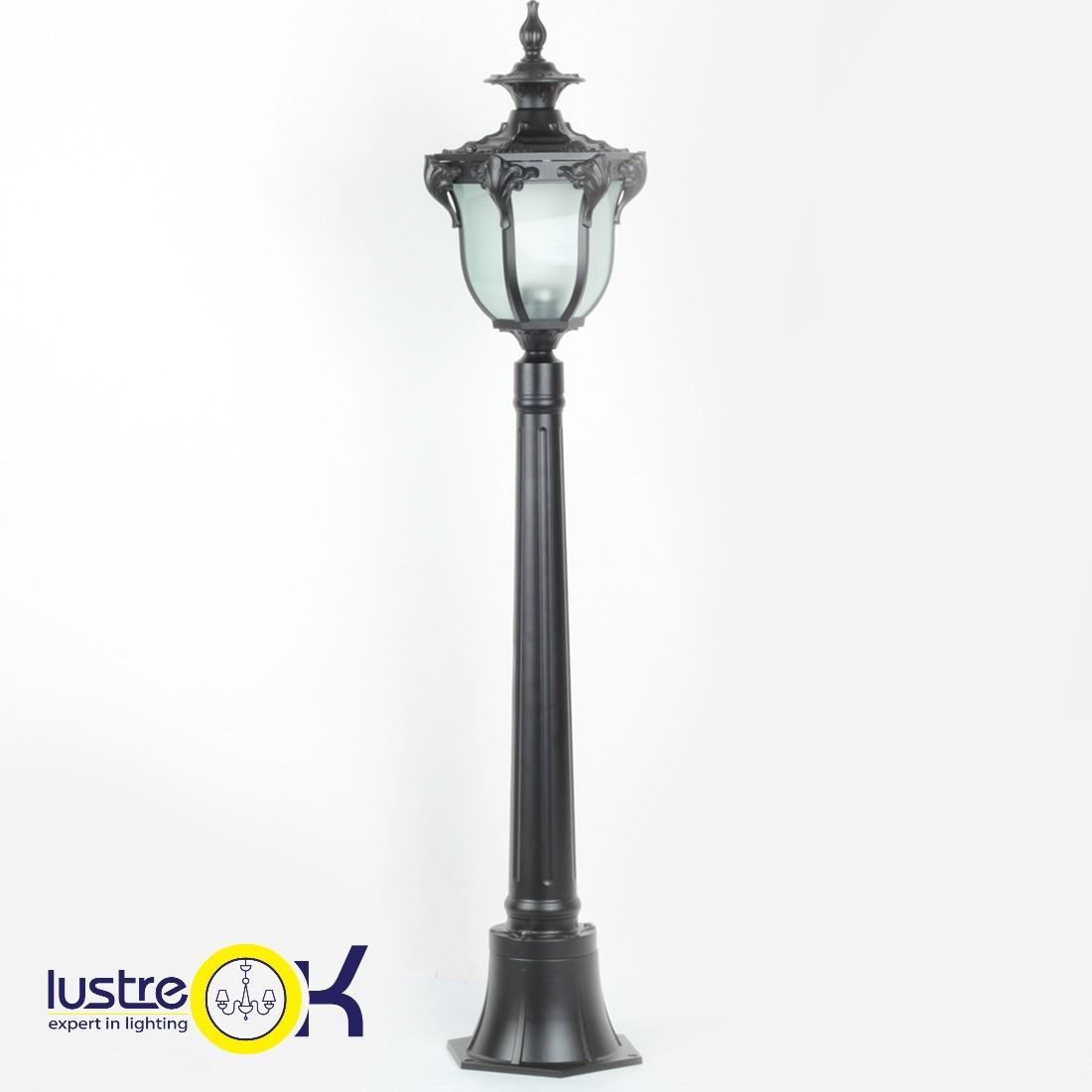 Садово - парковый светильник KX-14106M/P1 BK