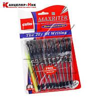 """Ручка маслянная CL""""Maxriter"""" синий + ручка в подарок"""