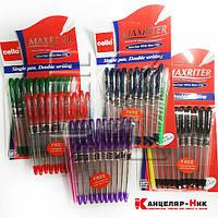 """Ручка маслянная фиолетовая, CL """"Maxriter""""+ ручка в подарок"""
