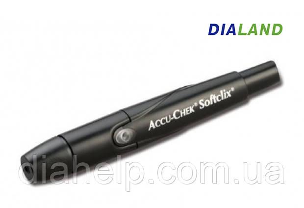 Автоматическая ручка для прокалывания (автоланцет) Акку Чек Софткликс (Accu-Chek Softclix)