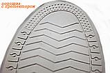 Бахилы для обуви от дождя, снега, грязи ZUO YOU XL многоразовые, с молнией и шнурком-утяжкой Белый (vol-392), фото 4