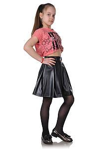 Детская юбка-бантовка черная 1027627439