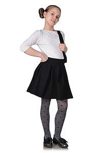 Детская юбка-бантовка черная 1027627440