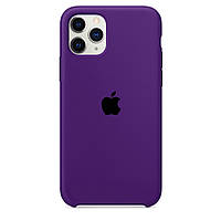 Чехол накладка xCase для iPhone 11 Pro Silicone Case Purple