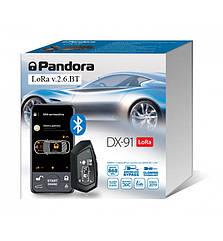 Автосигнализация Pandora DX-91 LoRa v 2.6.BT (+ метка BT-760)