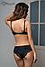 Черный комплект женского белья Dimanche, Италия, фото 2