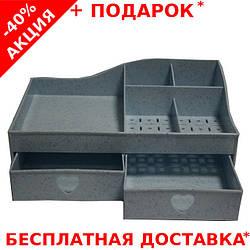 Пластиковый органайзер для косметики Make-Up Storage Box no.S07 для женщин
