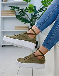 Женские кроссовки в стиле Nike Air Force (36, 37, 38, 39 размеры)
