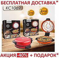 Электрическая блинница и для выпечки пиццы 2 в 1 DSP KC1069