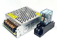 Реле и блок питания для подключения ИК-барьеров APS30