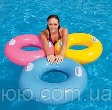 Круг надувной для плавания 59258 INTEX 76см с Ручками