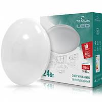 LED светильник настенно-потолочный TITANUM 24W 4100K 220V Матовый (24989)