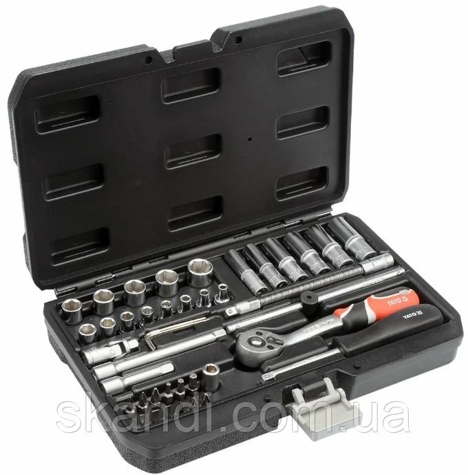 Набор инструмента с короткими и длинными головками Yato YT-14481