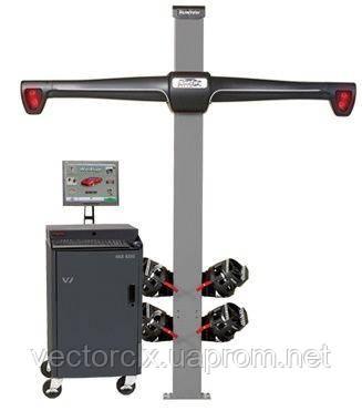 "3D-Стенд для РУУК HawkEye ELITE VAS6292 омологированный VAG,  4-х кам, ""фикс. колонна"", ПО WinAlign"