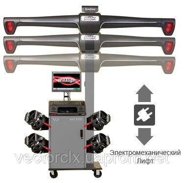 "3D-Стенд для РУУК HawkEye ELITE VAS6292 омологированный VAG, 4-х кам, ""электролифт"", ПО WinAlign"