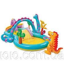 Надувной игровой центр Мир динозавров Intex 57135