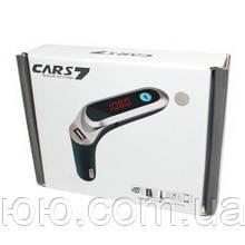 FM модулятор Cars-S7 с Bluetooth