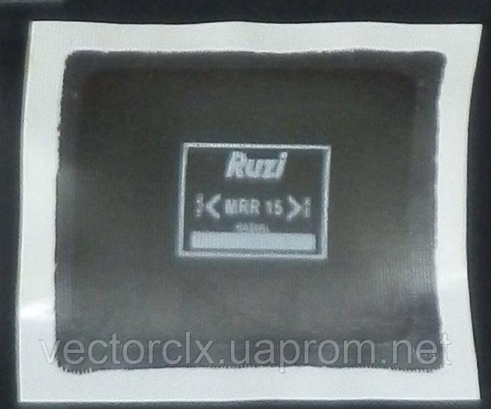 MRR–15, 90х75 мм. Радиальный пластырь для шин Ruzi