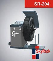 Автоматический балансировочный стенд SR-204 для обслуживания колес легковых и грузовых автомобилей, микроавтобусов