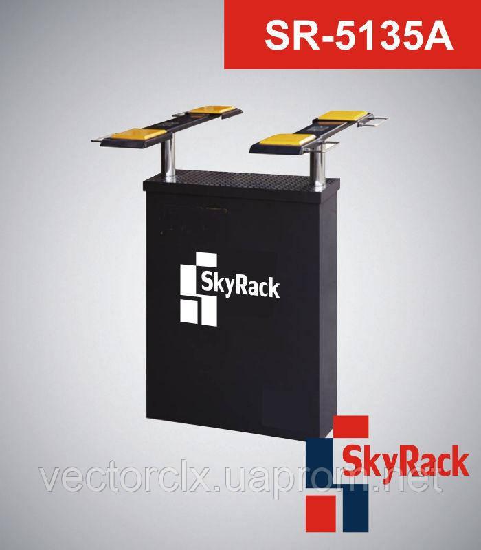 Автомобильный двухстоечный плунжерный электрогидравлический подъёмник SR-5135A