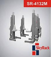 Автомобильный мобильный колонный электрогидравлический подъемник  SR-4132М