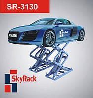 Автомобильный ножничный электрогидравлический подъемник SR-3130