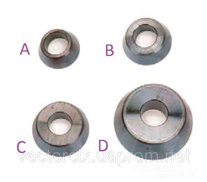 Базовый комплект конусов (4 ед.) со стандартным углом для балансировочных стендов  20-1167-1