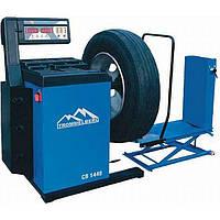 Балансировочный станок CB1448 с пневматическим подъемным устройством для колес до 130 кг