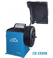 Балансировочный станок CB1930В для колес до 70 кг. Ручной ввод параметров колеса.
