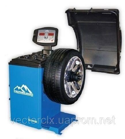 Балансировочный станок CB1960B с вынос. дисплеем, автомат. ввод 2-х параметров колеса, вес колеса до 70 кг.