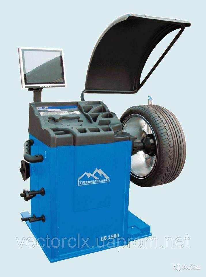 Балансировочный станок CB1980 с ЖК-дисплеем, для колес до 70 кг