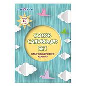 Картон цветной Cool For School 10 листов