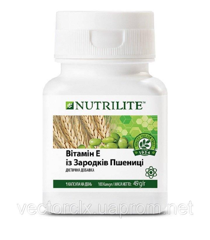 Витамин Е из зародышей пшеницы NUTRILITE™ №100
