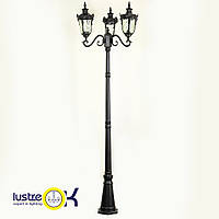 Садово - парковый светильник KX-12902M/P3 BK