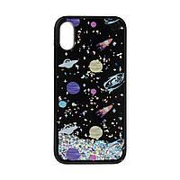 Чехол ArmorStandart Liquid case for iPhone X Galaxy silver, фото 1