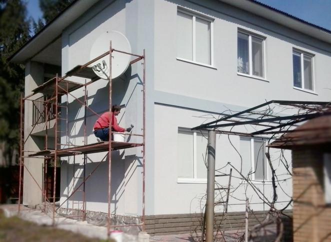Фасадні роботи ю
