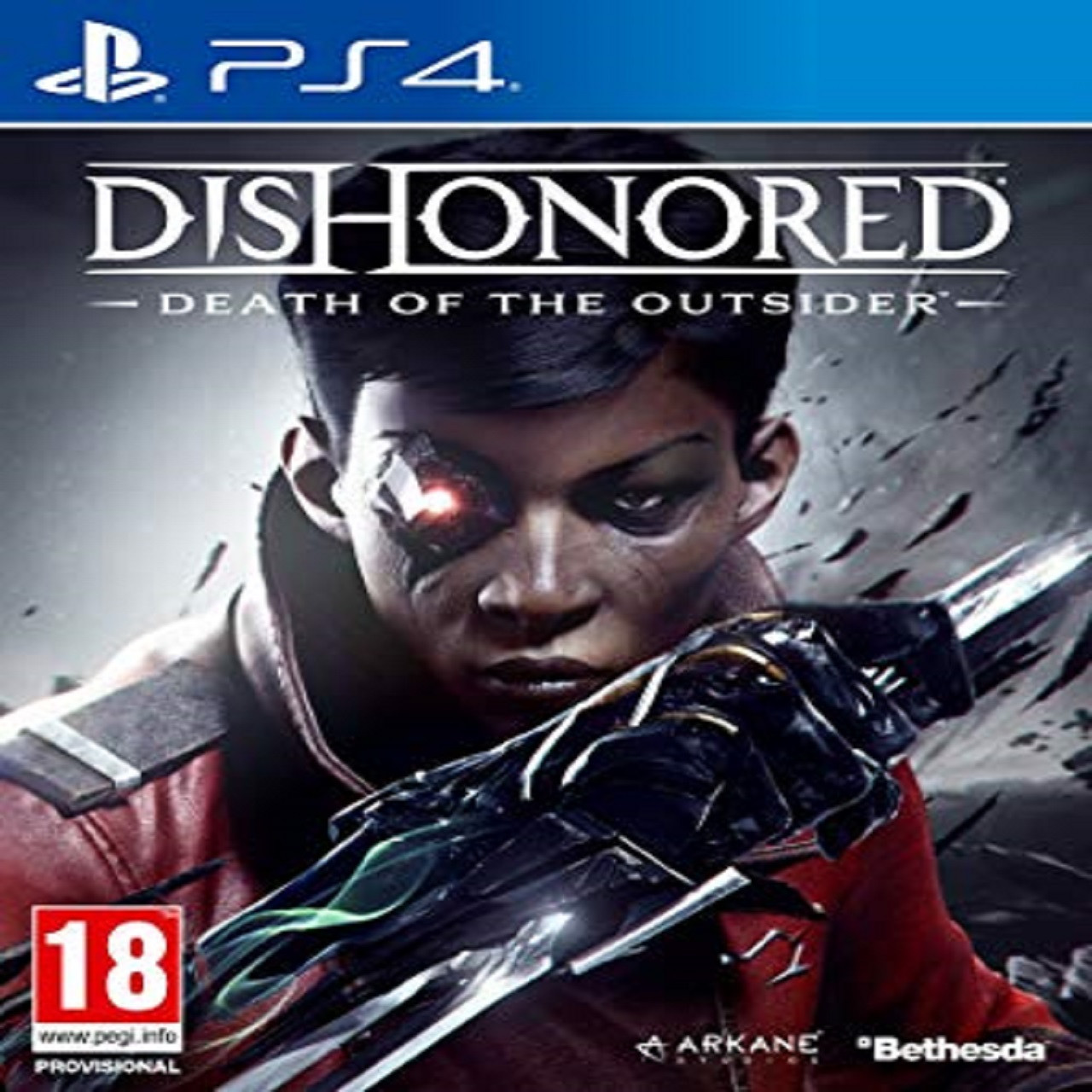 Dishonored Death of The Outsider RUS PS4 (NEW)