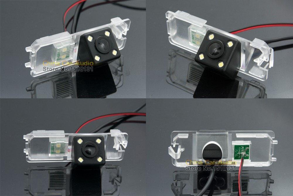 Камера заднего вида универсальная Volkswagen Polo (sedan) 2009+ Polo (hatchback) 2000-2010 цветная матрица CCD