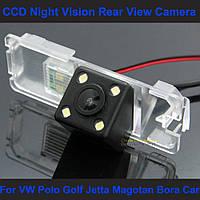 Камера заднего вида универсальная Passat CC, 4D 2006-2009 Variant, Golf Scirocco 2009 2010 цветная матрица CCD, фото 1