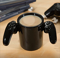 Керамическая Чашка Game Over Black top-730, фото 1