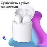 Навушники бездротові безпроводні наушники блюз bluetooth 5.0 Wi-pods X10 зарядний кейс кращі за Air Pods білі, фото 2
