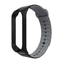 Ремешок для спортивного браслета ArmorStandart Sport Silicone Band for Xiaomi Mi Band 3 Black/Black-Grey, фото 1