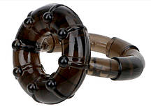 Двойное кольцо для эрекции и задержки эякуляции