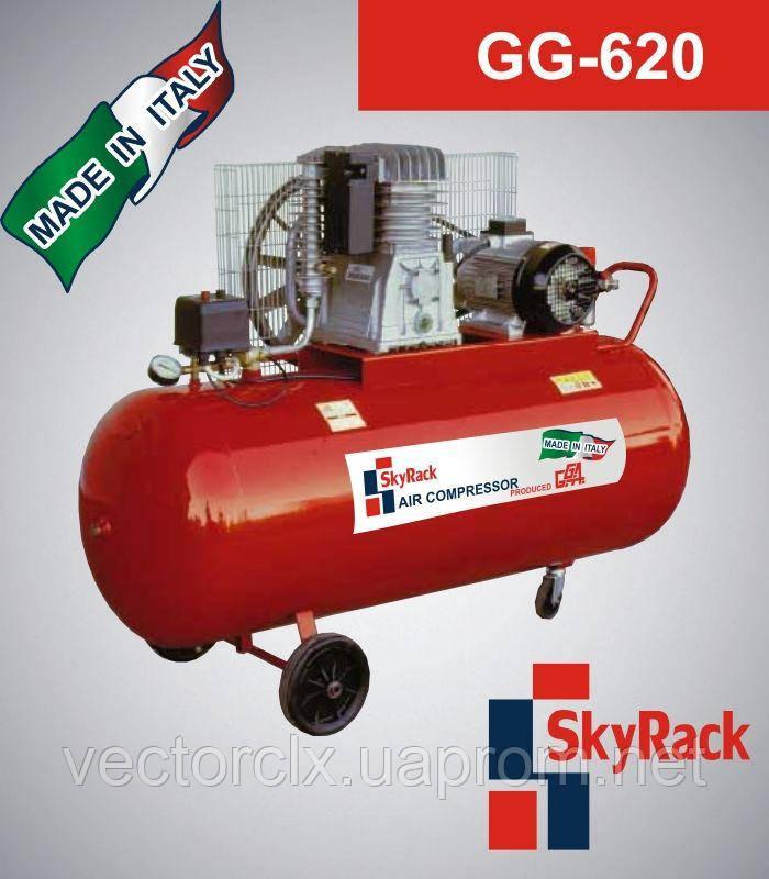 Компрессор поршневой GG 620 с ременной передачей  (380В, ресивер 270 л)