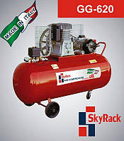 Компрессор поршневой GG 620 с ременной передачей  (380В, ресивер 270 л), фото 1